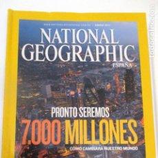Coleccionismo de National Geographic: REVISRA NATIONAL GEOGRAPHIC ENERO 2011. Lote 224221743
