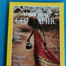 Coleccionismo de National Geographic: NATIONAL GEOGRAPHIC - AUGUST 1993, VOL 184, N° 2. TRAGEDY STALKS THE HORN OF AFRICA. Lote 224592438