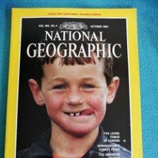 Coleccionismo de National Geographic: NATIONAL GEOGRAPHIC - OCTOBER 1993, VOL 184, N° 4. LABRADOR. Lote 224592755