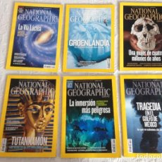 Coleccionismo de National Geographic: LOTE 6 REVISTAS NATIONAL GEOGRAPHIC ESPAÑA, AÑO 2010. Lote 225040263