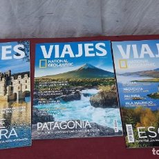 Collectionnisme de National Geographic: LOTE 3 REVISTAS NATIONAL GEOGRAPHIC..PATAGONIA..ESCOCIA..VALLE DEL LOIRA. Lote 225540151