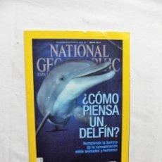 Coleccionismo de National Geographic: ¿ COMO PIENSA UN DELFIN ? REVISTA NATIONAL GEOGRAPHIC MAYO 2015. Lote 288431453
