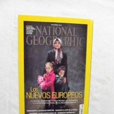 Collectionnisme de National Geographic: LOS NUEVOS EUROPEOS REVISTA NATIONAL GEOGRAPHIC OCTUBRE 2016. Lote 227058970