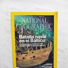 Collectionnisme de National Geographic: BATALLA NAVAL EN EL BALTICO RECUPERAN EL MAYOR BUQUE DE GUER REVISTA NATIONAL GEOGRAPHIC MARZO 2015. Lote 227069300