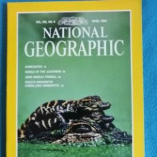 Coleccionismo de National Geographic: NATIONAL GEOGRAPHIC, VOL. 185, N° 4, APRIL 1994 THE EVERGLADES DYING FOR HELP. Lote 227728224