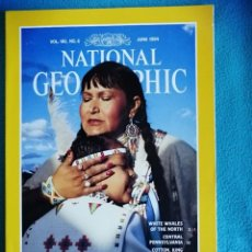 Coleccionismo de National Geographic: NATIONAL GEOGRAPHIC, VOL. 185, N°6, JUNE 1994. POWWOW. Lote 227728585