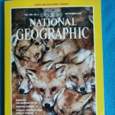 Coleccionismo de National Geographic: NATIONAL GEOGRAPHIC. VOL. 180, N°3, SEPTEMBER 1991, A SHAMEFUL HARVEST AMERICA'S ILLEGAL WILDLIFE.... Lote 227730190