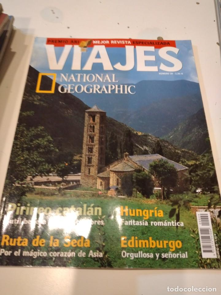 TRAST REVISTA VIAJES NATIONAL GEOGRAPHIC Nº 29 PIRINEO CATALAN RUTA SEDA HUNGRIA EDIMBURGO (Coleccionismo - Revistas y Periódicos Modernos (a partir de 1.940) - Revista National Geographic)