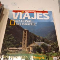 Coleccionismo de National Geographic: TRAST REVISTA VIAJES NATIONAL GEOGRAPHIC Nº 29 PIRINEO CATALAN RUTA SEDA HUNGRIA EDIMBURGO. Lote 228492590