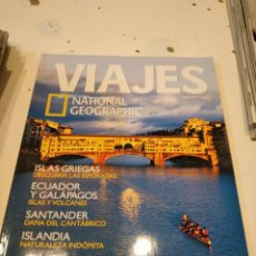 Colecionismo da National Geographic: TRAST REVISTA VIAJES NATIONAL GEOGRAPHIC Nº 65 FLORENCIA ISLAS GRIEGAS SANTANDER ECUADOR GALAPAGOS. Lote 228492850