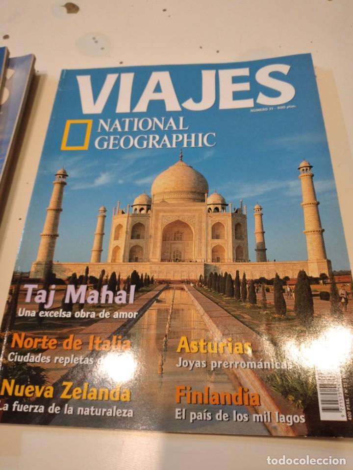 TRAST REVISTA VIAJES NATIONAL GEOGRAPHIC Nº 21 TAJ MAHAL NORTE ITALIA NUEVA ZELANDA ASTURIAS FINLAND (Coleccionismo - Revistas y Periódicos Modernos (a partir de 1.940) - Revista National Geographic)