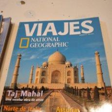 Coleccionismo de National Geographic: TRAST REVISTA VIAJES NATIONAL GEOGRAPHIC Nº 21 TAJ MAHAL NORTE ITALIA NUEVA ZELANDA ASTURIAS FINLAND. Lote 228494365