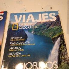 Collectionnisme de National Geographic: TRAST REVISTA VIAJES NATIONAL GEOGRAPHIC Nº 64 FLORDOS NORUEGOS OPORTO CABO DE GATA JAMAICA IRLANDA. Lote 228494860