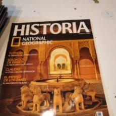 Coleccionismo de National Geographic: TRAST REVISTA VIAJES NATIONAL GEOGRAPHIC Nº 69 LA ALHAMBRA TUTMOSIS III CLAUDIO ZARES. Lote 228495355