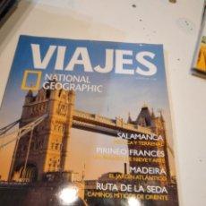 Collectionnisme de National Geographic: TRAST REVISTA VIAJES NATIONAL GEOGRAPHIC Nº 58 LONDRES SALAMANCA PIRINEO FRANCES MADEIRA RUTA SEDA. Lote 228495840