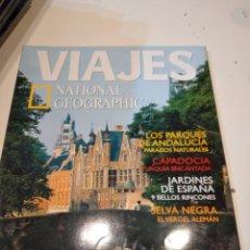 Coleccionismo de National Geographic: TRAST REVISTA VIAJES NATIONAL GEOGRAPHIC Nº 37 BRUJAS Y GANTE PARQUES ANDALUCIA CAPADOCIA. Lote 228496165