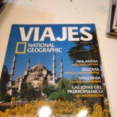 Collectionnisme de National Geographic: TRAST REVISTA VIAJES NATIONAL GEOGRAPHIC Nº 46 ESTAMBUL FINLANDIA SEGOVIA TANZANIA PRERROMANICO. Lote 228496390