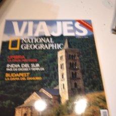 Coleccionismo de National Geographic: TRAST REVISTA VIAJES NATIONAL GEOGRAPHIC Nº 44 LA RUTA DEL ROMANICO UMBRIA INDIA DEL SUR BUDAPEST. Lote 228500030