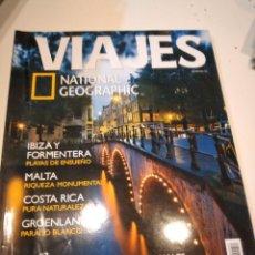 Coleccionismo de National Geographic: TRAST REVISTA VIAJES NATIONAL GEOGRAPHIC Nº 52 AMSTERDAM IBIZA FORMENTERA MALTA COSTA RICA GROENLAN. Lote 228500320