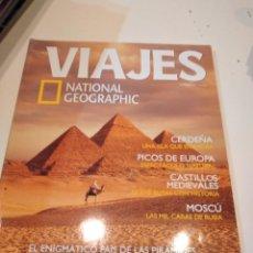 Coleccionismo de National Geographic: TRAST REVISTA VIAJES NATIONAL GEOGRAPHIC Nº 50 EGIPTO CERDEÑA PICOS EUROPA CASTILLOS MEDIEVALES MOSC. Lote 249562085