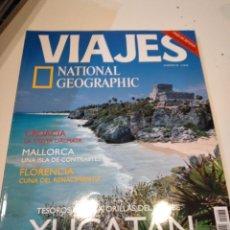 Coleccionismo de National Geographic: TRAST REVISTA VIAJES NATIONAL GEOGRAPHIC Nº 38 YUCATAN CROACIA MALLORCA FLORENCIA. Lote 228500490