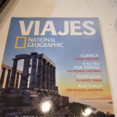Coleccionismo de National Geographic: TRAST REVISTA VIAJES NATIONAL GEOGRAPHIC Nº 49 GRECIA CUENCA PORTUGAL AUSTRALIA 9 RUTAS ESPAÑA. Lote 228500570