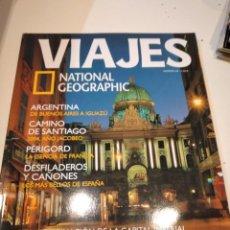 Coleccionismo de National Geographic: TRAST REVISTA VIAJES NATIONAL GEOGRAPHIC Nº 48 VIENA ARGENTINA CAMINO SANTIAGO PERIGORD DESFILADERO. Lote 228500695