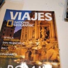 Collectionnisme de National Geographic: TRAST REVISTA VIAJES NATIONAL GEOGRAPHIC Nº 60 ROMA SEVILLA SAN FRANCISCO BALI DINAMARCA. Lote 228500975