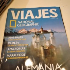 Coleccionismo de National Geographic: TRAST REVISTA VIAJES NATIONAL GEOGRAPHIC Nº 61 ALEMANIA ROMANTICA RIAS BAJAS DUBLIN AMAZONAS MARRUEC. Lote 228501385