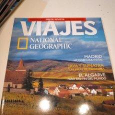 Collectionnisme de National Geographic: TRAST REVISTA VIAJES NATIONAL GEOGRAPHIC Nº 34 ALSACIA MADRID JAVA SUMATRA EL ALGARVE. Lote 228501450