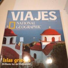 Coleccionismo de National Geographic: TRAST REVISTA VIAJES NATIONAL GEOGRAPHIC Nº 20 ISLAS GRIEGAS DANUBIO IMPERIAL NIAGARA RIAS BAJAS TIB. Lote 228501525