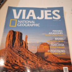 Coleccionismo de National Geographic: TRAST REVISTA VIAJES NATIONAL GEOGRAPHIC Nº 53 PARQUES DE EEUU PIRINEO ARAGONES BRASIL TOSCANIA ESTO. Lote 228501595