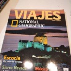 Coleccionismo de National Geographic: TRAST REVISTA VIAJES NATIONAL GEOGRAPHIC Nº 15 ESCOCIA SIERRA NEVADA INDIA SUR MEXICO SELVA NEGRA. Lote 228501655
