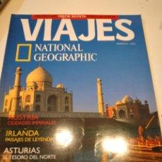 Coleccionismo de National Geographic: TRAST REVISTA VIAJES NATIONAL GEOGRAPHIC Nº 35 INDIA DEL NORTE AUSTRIA IRLANDA ASTURIAS. Lote 228502190