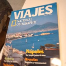 Coleccionismo de National Geographic: TRAST REVISTA VIAJES NATIONAL GEOGRAPHIC Nº 10 NAPOLES BRUSELAS AMAZONIA SEGOVIA TAILANDIA. Lote 228502775