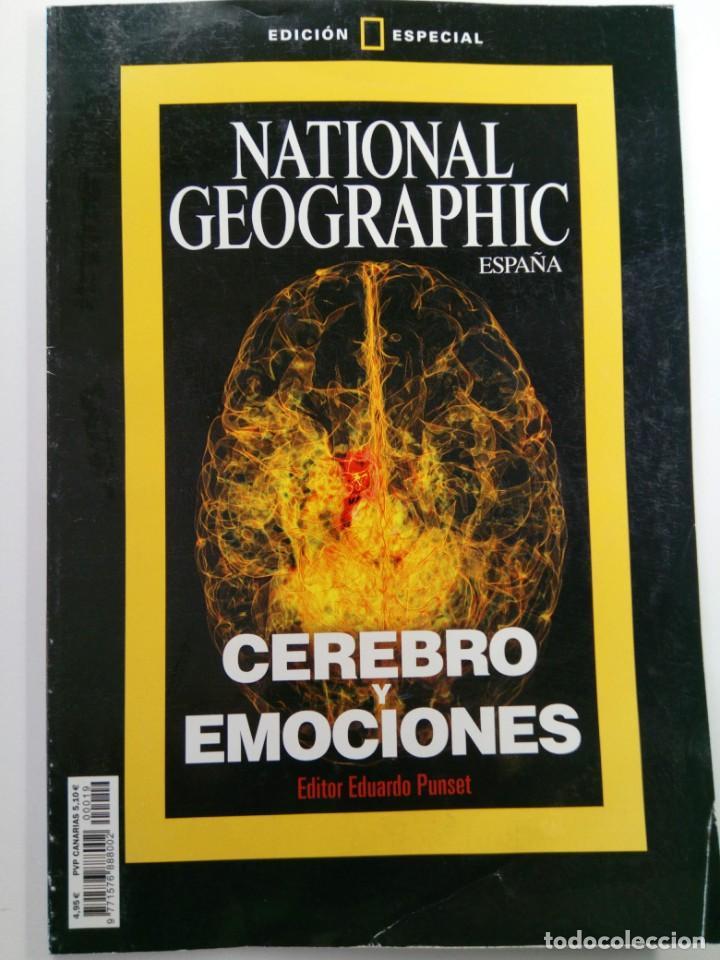 NATIONAL GEOGRAPHIC ESPAÑA EDICIÓN ESPECIAL - CEREBRO Y EMOCIONES - EDITOR EDUARDO PUNSET (Coleccionismo - Revistas y Periódicos Modernos (a partir de 1.940) - Revista National Geographic)
