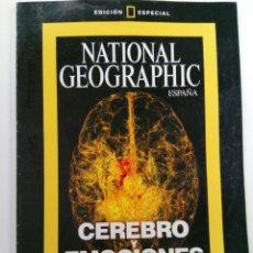 Collectionnisme de National Geographic: NATIONAL GEOGRAPHIC ESPAÑA EDICIÓN ESPECIAL - CEREBRO Y EMOCIONES - EDITOR EDUARDO PUNSET. Lote 233240385