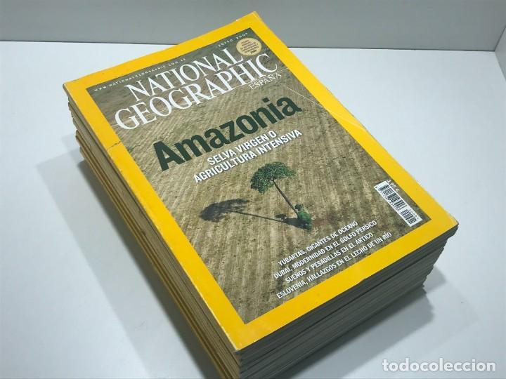 LOTE DE REVISTAS DE NATIONAL GEOGRAPHIC DEL AÑO 2007 (Coleccionismo - Revistas y Periódicos Modernos (a partir de 1.940) - Revista National Geographic)