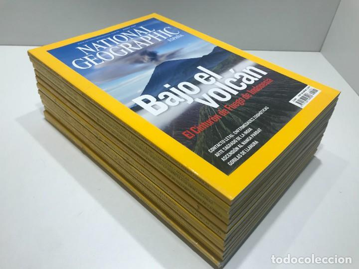 LOTE DE REVISTAS DE NATIONAL GEOGRAPHIC DEL AÑO 2008 (Coleccionismo - Revistas y Periódicos Modernos (a partir de 1.940) - Revista National Geographic)