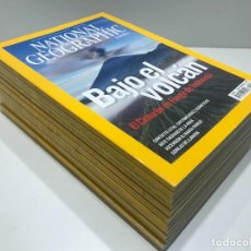 Collectionnisme de National Geographic: LOTE DE REVISTAS DE NATIONAL GEOGRAPHIC DEL AÑO 2008. Lote 234354975