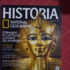 Collezionismo di National Geographic: REVISTA HISTORIA NATIONAL GEOGRAPHIC N° 73. Lote 234370470