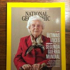 Collezionismo di National Geographic: REVISTA NATIONAL GEOGRAPHIC ÚLTIMAS VOCES SEGUNDA GUERRA MUNDIAL JUNIO 2020. Lote 234726270