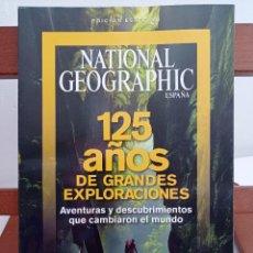 Collectionnisme de National Geographic: NATIONAL GEOGRAPHIC. 125 DE GRANDES EXPLORACIONES.. Lote 237856910