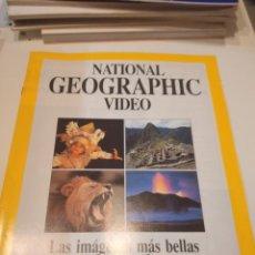 Coleccionismo de National Geographic: M-5 REVISTA NATIONAL GEOGRAPHIC VIDEO FOLLETO. Lote 237944110