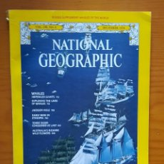 Collezionismo di National Geographic: NATIONAL GEOGRAPHIC MAGAZINE, AÑO 60, 70, 80 Y 90 COMPLETOS ( ENGLISH ). Lote 141647858