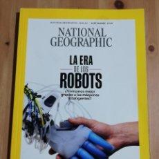 Coleccionismo de National Geographic: REVISTA NATIONAL GEOGRAPHIC SEPTIEMBRE 2020 (LA ERA DE LOS ROBOTS). Lote 240748090