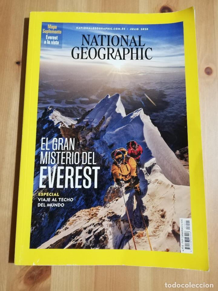 REVISTA NATIONAL GEOGRAPHIC JULIO 2020 (EL GRAN MISTERIO DEL EVEREST) (Coleccionismo - Revistas y Periódicos Modernos (a partir de 1.940) - Revista National Geographic)
