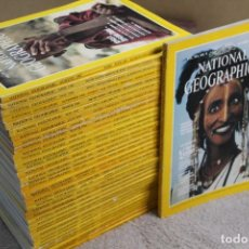 Coleccionismo de National Geographic: LOTE 39 REVISTAS NATIONAL GEOGRAPHIC EDICION INGLES VARIOS AÑOS. Lote 241382440