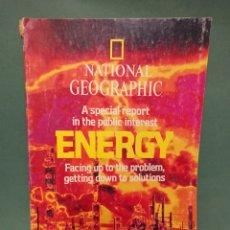 Coleccionismo de National Geographic: REVISTA NATIONAL GEOGRAFHIC ENERGY EN INGLES. Lote 242203890