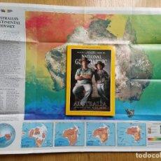 Coleccionismo de National Geographic: REVISTA NATIONAL GEOGRAPHIC. AUSTRALIA, CON MAPA. VOLUMEN 173. Nº 2. FEBRUARY 1988 EN INGLES. Lote 243381945